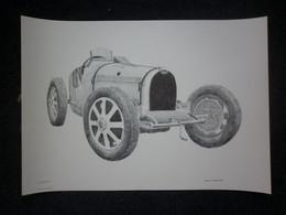 Lot 2x Bugatti Voiture Automobile Car - Voitures