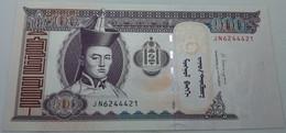Billete Mongolia. 2014. 100 Tugrik. SC. Sin Circular. Caballos. Posibilidad De Números Correlativos - Mongolia