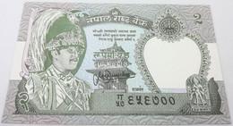 Billete Nepal. 1981. 2 Rupias. SC. Sin Circular. Leopardo. Posibilidad De Números Correlativos - Nepal