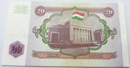 Billete Tajikistan. 1994. 20 Rublos. SC. Sin Circular. Posibilidad De Números Correlativos - Tajikistan