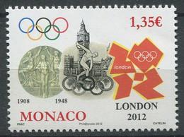 Monaco 2012 - N° 2836 - Jeux Olympiques D'Eté à Londres - Neuf ** - Unused Stamps