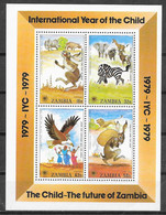 Zambie N° Bloc 5 Yvert NEUF ** - Zambia (1965-...)