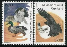 "GROENLANDIA /GREENLAND /GRÖNLAND  -EUROPA 2019 -NATIONAL BIRDS.-""AVES -BIRDS -VÖGEL-OISEAUX""- SERIE N - 2019"