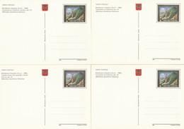 SERIE INTERI VATICANO ORAZIO IN VATICANO NUOVI (KP423 - Interi Postali