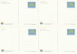 SERIE INTERI VATICANO MAPPE NUOVI (KP426 - Interi Postali