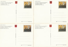SERIE INTERI VATICANO BASILICA S.MARCO NUOVI (KP424 - Interi Postali