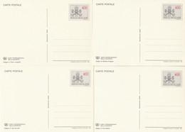 SERIE INTERI VATICANO ANNO INTERNAZIONALE GIOVENTU' NUOVI (KP434 - Interi Postali