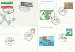 LOTTO 4 INTERI POSTALI ITALIA ANNULLO SPECIALE/FDC (KP309 - Postwaardestukken