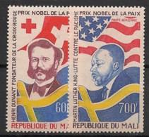 Mali - 1977 - Poste Aérienne PA N°Yv. 305 à 306 - Prix Nobel - Neuf Luxe ** / MNH / Postfrisch - Mali (1959-...)