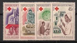 Mali - 1965 - N°Yv. 79 à 82 - Croix Rouge - Neuf Luxe ** / MNH / Postfrisch - Mali (1959-...)