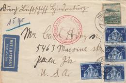 LETTERA 1936 GERMANIA DIRETTA USA (KP483 - Cartas