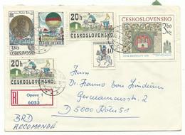 Troppau Opava R-Brief 1980 Nach Köln - Sin Clasificación