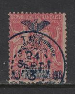Nouvelle Caledonie - New Caledonia - Yvert 78 Oblitéré THIO En Bleu - Scott#78 - Oblitérés
