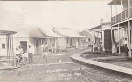 RPPC Prizapolca Main St Dec 1905 Bluefields Sent To Sweden - Nicaragua