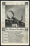E0704 - Skorpion Tierkreiszeichen - M. Sack Spandau - Astronomia