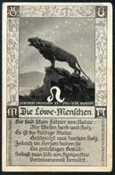 E0705 - Löwe Tierkreiszeichen - M. Sack Spandau - Astronomia