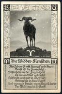 E0706 - Widder Tierkreiszeichen - M. Sack Spandau - Astronomia