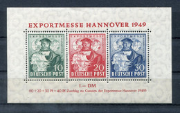 Deutschland-Bizone - Block 1 Einwandfrei Postfrisch - Mnh - Zona Anglo-Americana