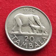 Malawi 20 Tambala 1994 KM# 11.2a Elephant - Malawi