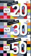 Carte Cadeau - Fly * 3  Du  31/12/2013  -   GIFT CARD /GESCHENKKARTE - Gift Cards