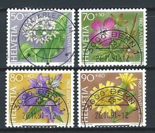 VV-/-945.-  YVERT N° 1383/86,  OBL. - COTE 6.00 € -  IMAGE DU VERSO SUR DEMANDE - Schweiz