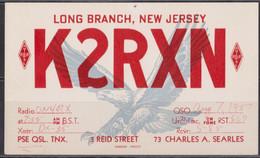 New Jersey Carte Radio Amateur. - Radio Amatoriale