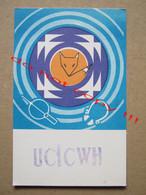 Fox / QSL RADIO AMATEUR CARD - UCICWH - Moscow, USSR ( 1990 ) - Radio Amatoriale