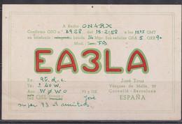 Espagne Carte Radio Amateur. - Radio Amatoriale