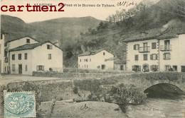 ALDUDES LE PONT ET LE BUREAU DE TABACS EDITION MICHEL ERRECA PYRENEES 64 - Aldudes
