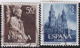 Espana     .    Y&T    .   841/842    .         O      .       Oblitéré   .   /   .     Cancelled - 1931-Aujourd'hui: II. République - ....Juan Carlos I