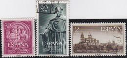 Espana     .    Y&T    .   835/837     .         O      .       Oblitéré   .   /   .     Cancelled - 1931-Aujourd'hui: II. République - ....Juan Carlos I