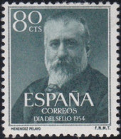 Espana     .    Y&T   .    853    .     *      .      Neuf Avec Gomme   .   /   .   Mint-hinged - 1951-60 Ongebruikt