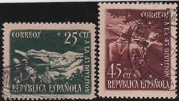 Espana     .    Y&T        .    632/633      .         O      .       Oblitéré   .   /   .     Cancelled - 1931-Today: 2nd Rep - ... Juan Carlos I