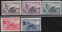 Espana     .    Y&T        .   644/648        .        *      .      Neuf Avec Gomme   .   /   .   Mint-hinged - 1931-Today: 2nd Rep - ... Juan Carlos I