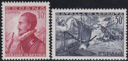 Espana     .    Y&T        .   2 Timbres      .        *      .      Neuf Avec Gomme   .   /   .   Mint-hinged - 1931-Today: 2nd Rep - ... Juan Carlos I