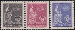 Barcelona      .    Y&T        .    64/66    .        *      .      Neuf Avec Gomme   .   /   .   Mint-hinged - Barcelona