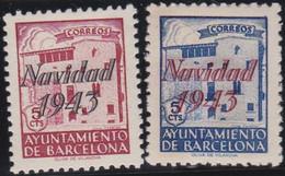 Barcelona      .    Y&T        .   62/63       .        *      .      Neuf Avec Gomme   .   /   .   Mint-hinged - Barcelona