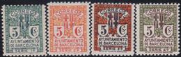 Barcelona      .    Y&T        .   14/17     .        *      .      Neuf Avec Gomme   .   /   .   Mint-hinged - Barcelona