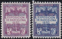 Barcelona      .    Y&T        .    7/8     .        *      .      Neuf Avec Gomme   .   /   .   Mint-hinged - Barcelona