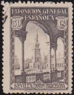 Espana     .    Y&T        .    374      .         O      .       Oblitéré   .   /   .     Cancelled - 1889-1931 Reino: Alfonso XIII