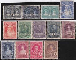 Espana     .    Y&T        .    288/299       .         O  Et   *    .       Oblitéré   Et Neuf * - 1889-1931 Reino: Alfonso XIII