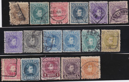 Espana     .    Y&T        .     212/215    .         O      .       Oblitéré   .   /   .     Cancelled - 1889-1931 Reino: Alfonso XIII