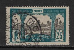 Gabon - Yvert 84 Oblitéré N'GOMO - Scott#59 - Gebruikt