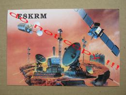 QSL RADIO AMATEUR CARD - F8KRM - MONTARGIS, FRANCE ( 1994 ) - Radio Amatoriale