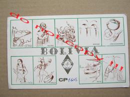 QSL RADIO AMATEUR CARD - BOLIVIA ( 1981 ) - Radio Amatoriale