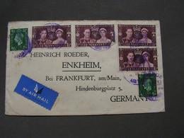 Cover To Enkheim 1937 - Briefe U. Dokumente