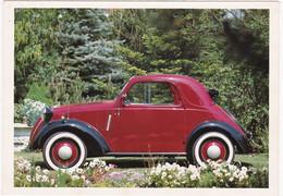"""Automobile : Voitures De Tourisme : """" FIAT TOPOLINO """" - Année 1936 -  C.p.m. - - Turismo"""