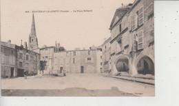 85 FONTENAY LE COMTE  -  La Place Belliard  - - Fontenay Le Comte