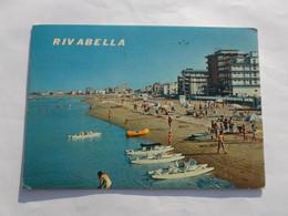 RIVABELLA Di RIMINI  Alberghi E Spiaggia Visti Dal Mare - Rimini