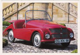 """Automobile : Voitures De Tourisme : """" KLEINSCHNITTGER F 125 """" - Année 1950 -  C.p.m. - - Turismo"""
